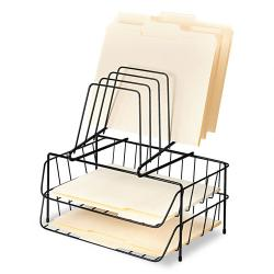 Fellowes Wire Double Letter Tray File Sorter
