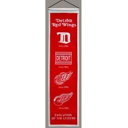Detroit Red Wings Wool Heritage Banner - Thumbnail 0