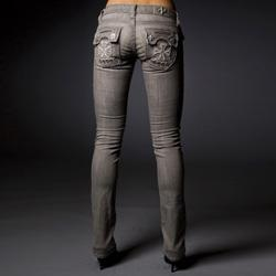 Laguna Beach Women's 'The Wedge' Straight Leg Jeans - Free ...