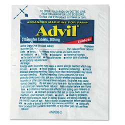 Advil Single Dose Ibuprofen Refill Packs