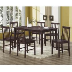 Espresso 60-inch Wood Dining Table - Thumbnail 2