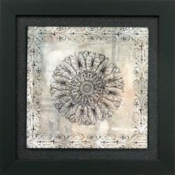 'Rosette II' Framed Wall Art