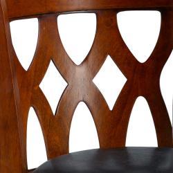 Valencia Cherry Triple Crossback 29-inch Barstool