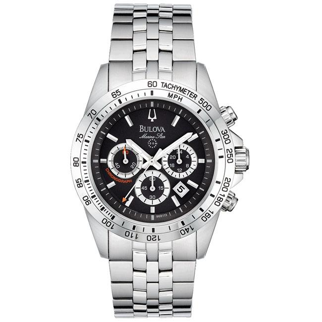 e785821f9 Shop Bulova 'Marine Star' Men's Chronograph Watch - Free Shipping Today -  Overstock - 5579691