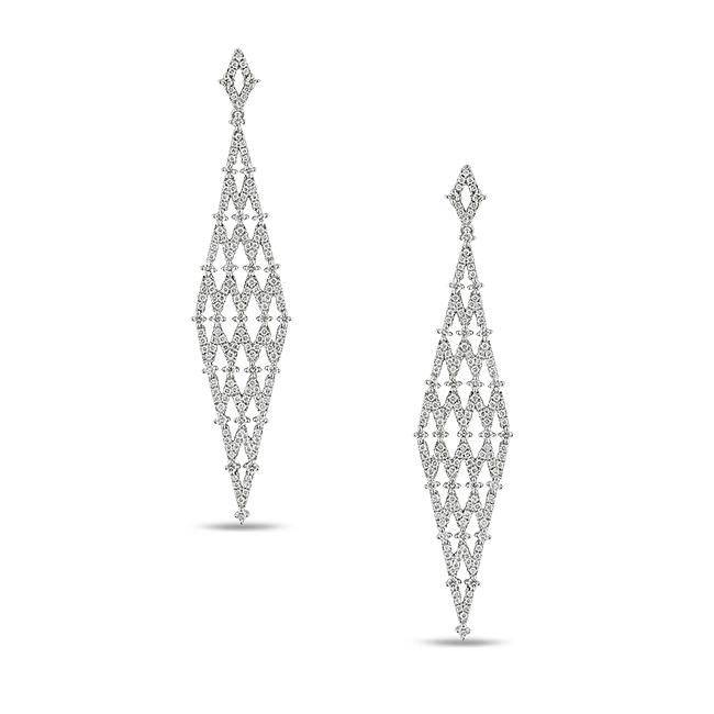 Miadora Signature Collection 14k White Gold 1 5/8ct TDW Diamond Earrings (G-H, SI1-SI2)
