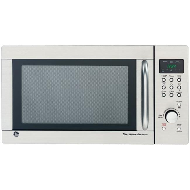 GE JES1384SF Stainless Steel 1.3 Cu.Ft. Countertop Microwave Oven (Refurbished)