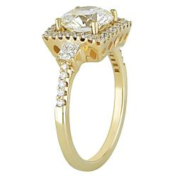 Miadora 18k Gold 2 1/2ct TDW Certified Diamond Ring - Thumbnail 1