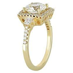 Miadora 18k Gold 2 1/2ct TDW Certified Diamond Ring