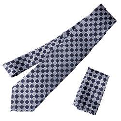 Boston Traveler St. P Men's Microfiber Tie and Hanky Set