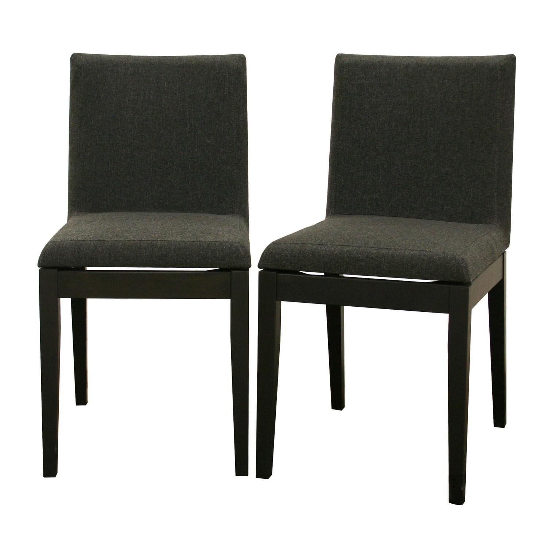 moira black modern dining chairs (set of )  free shipping today  - moira black modern dining chairs (set of )