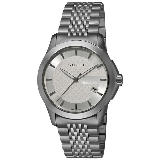 Gucci Men's 'G-Timeless' Stainless Steel Watch