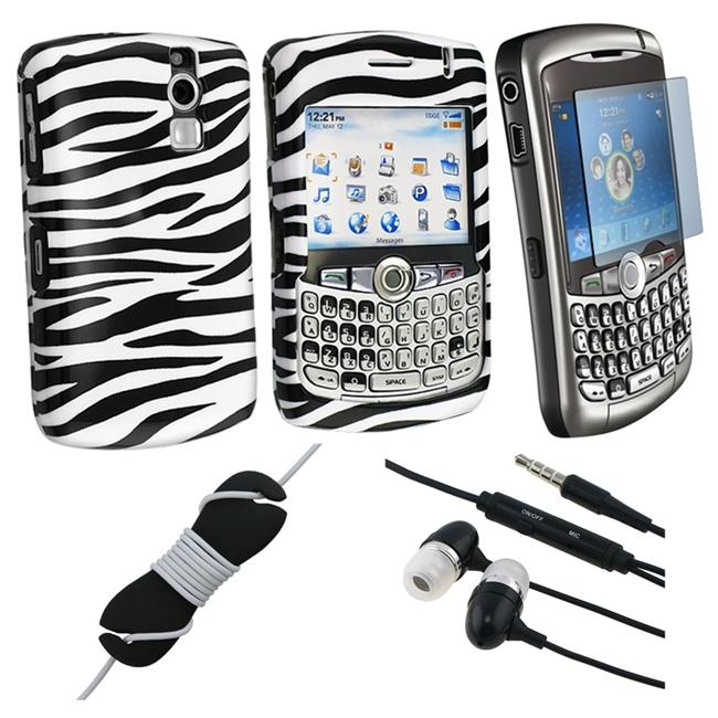 4-piece Case/ Headset for BlackBerry Curve 8300/8310/8320/8330