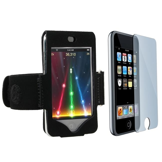 Suede Armband/ Screen Protector Kit for Apple iPod Touch