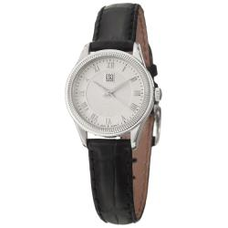 ESQ by Movado Women's 'Harrison' Steel and Leather Quartz Watch