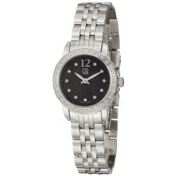 ESQ by Movado Women's 'Capri' Stainless Steel Quartz Diamond Watch