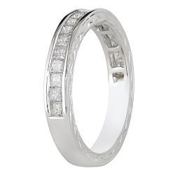 10k White Gold 3/4ct TDW Diamond Anniversary Ring (G-H, I2-I3)