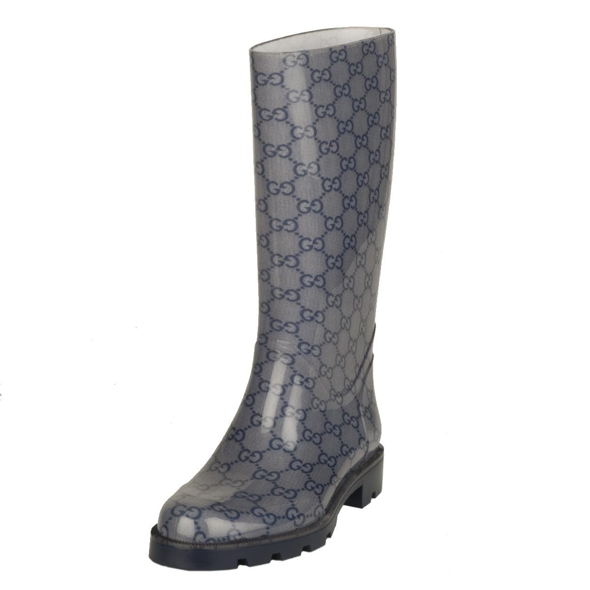 Gucci Women's 'Edimburg' Rubber Rainboots - Free Shipping Today ...