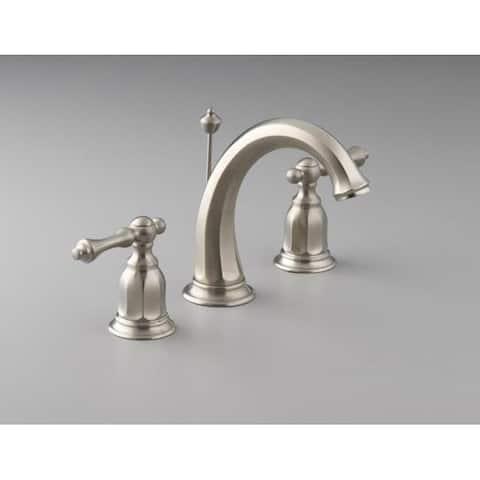 Kohler K-13491-4-BN Vibrant Brushed Nickel Kelston Widespread Lavatory Faucet