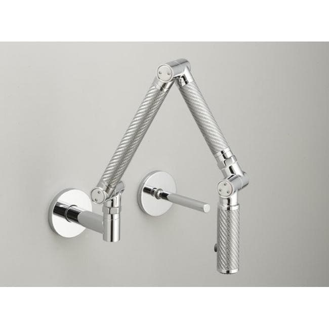 kohler k 6228 c11 cp polished chrome karbon wall mount kitchen faucet
