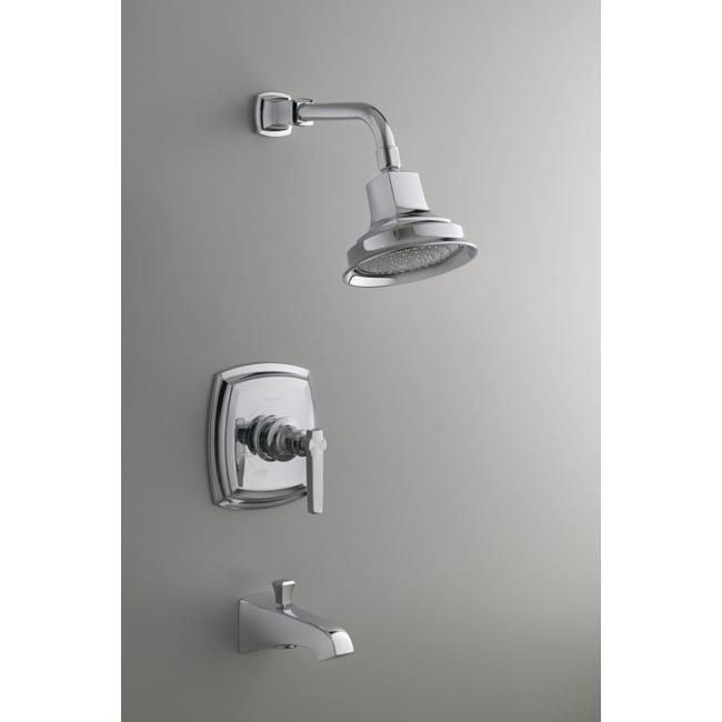 CP Polished Chrome Wall Mount Bath And Shower Trim