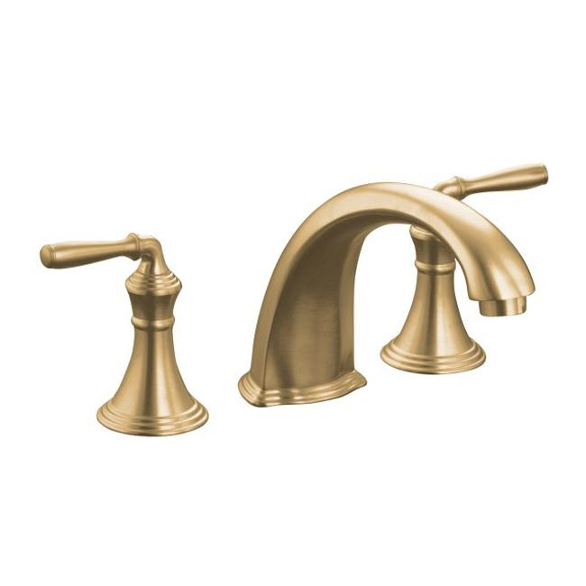 Shop Kohler K T398 4 Bv Vibrant Brushed Bronze Bath Faucet Trim