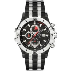 Bulova 'Marine Star' Black Ion-Plated Stainless Steel Watch