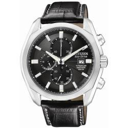 Citizen Eco-Drive Men's Titanium Sport Chronograph Watch - Thumbnail 2