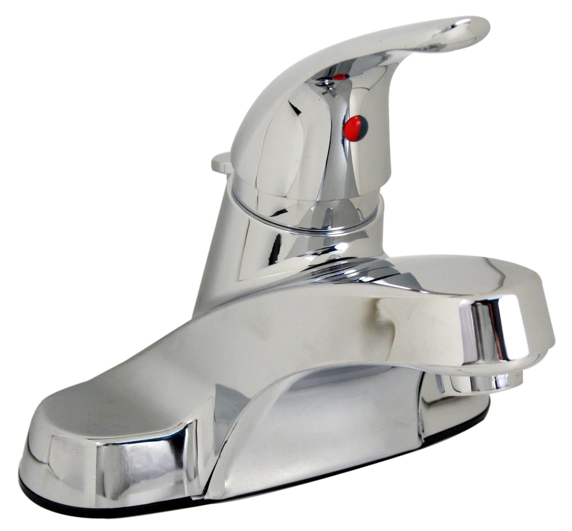 Price Pfister Polished Chrome Centerset Bathroom Faucet