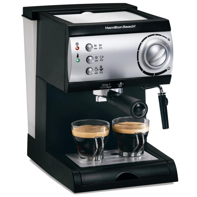 Hamilton Beach 40715 Espresso/ Cappuccino Maker (Refurbished)