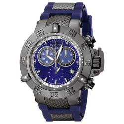 Invicta Men's 'Subaqua' Rubber & Stainless Steel Chronograph Watch - Thumbnail 0