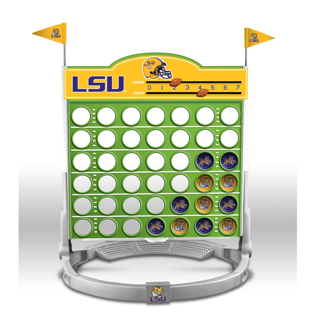 LSU Tigers Connect 4
