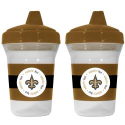 New Orleans Saints Sippy Cups (Pack of 2) - Thumbnail 1