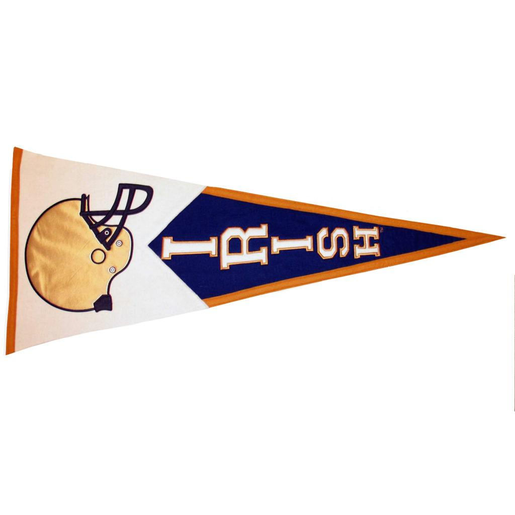 Notre Dame Fighting Irish Classic Wool Pennant