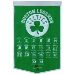 Boston Celtics NBA Legends Banner - Thumbnail 0