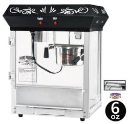 Great Northern Black 6-oz Foundation Popcorn Machine