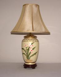 Hand-painted Porcelain 1-light Table Lamp - Thumbnail 1