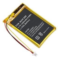 Compatible Li-ion Battery/ Mini USB Car Charger for Garmin Nuvi