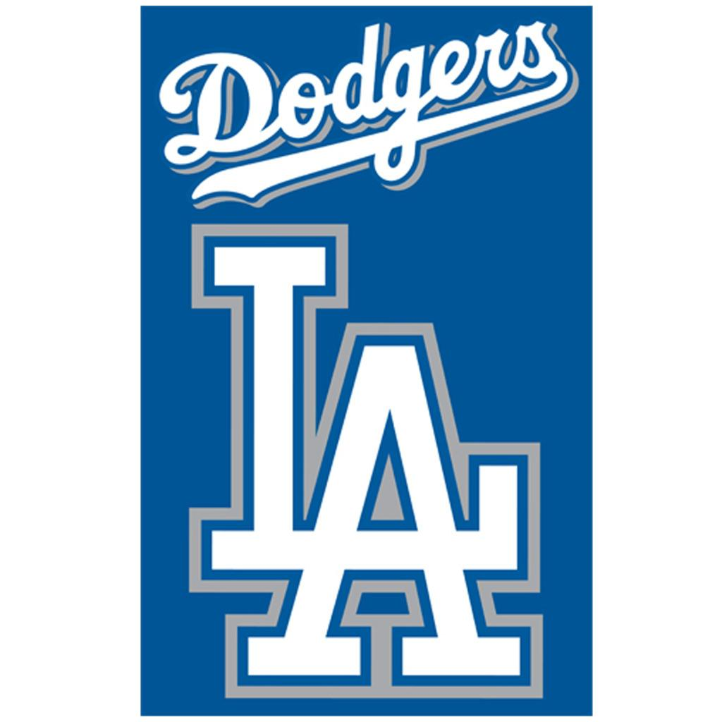 Los Angeles Dodgers Nylon Banner Flag - Thumbnail 0