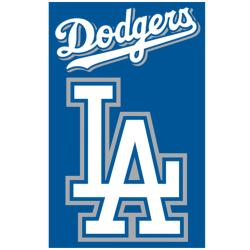 Los Angeles Dodgers Nylon Banner Flag - Thumbnail 1