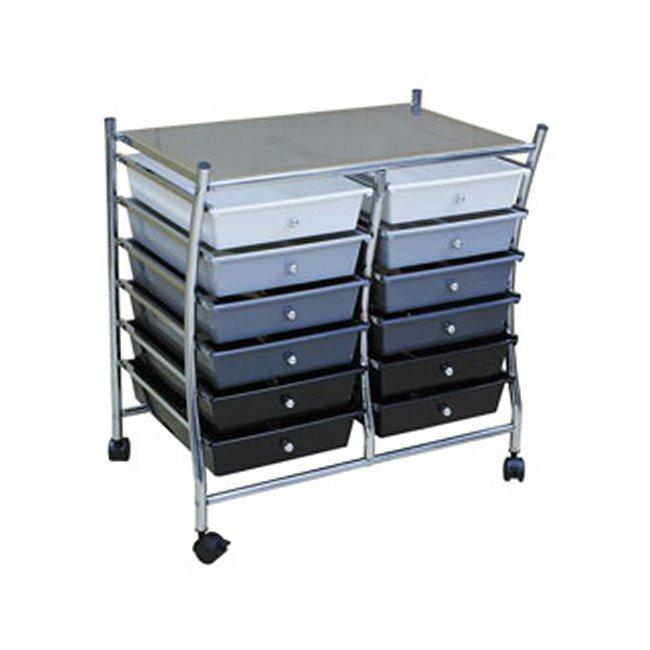 Realspace 12-drawer Mobile Organizer