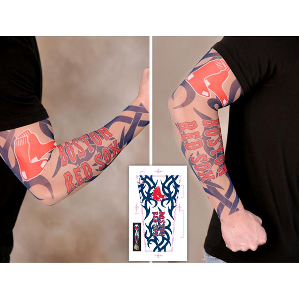 boston red sox tattoo sleeves (pack of 2) - free shipping on