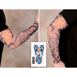 Thumbnail 2, Detroit Tigers Tattoo Sleeves (Pack of 2). Changes active main hero.