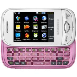 Samsung Pink Corby Plus GT-B3410 GSM Unlocked Cell Phone