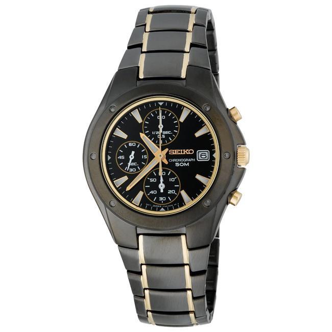 Seiko Men's Titanium Chronograph Watch
