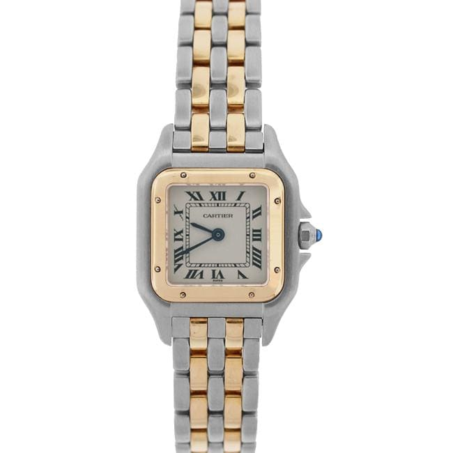 pre owned cartier s panthere two tone free