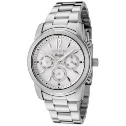 Invicta Women's 'Angel' Mother of Pearl Dial Stainless Steel Watch