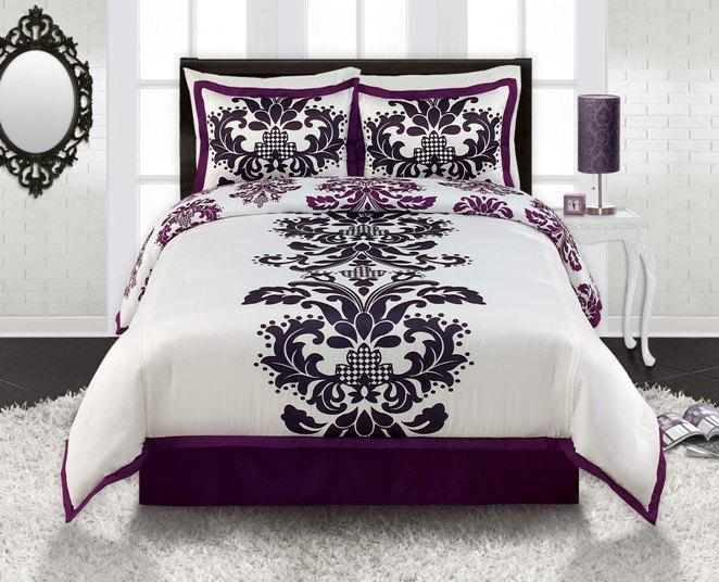 Posh Twin-size 3-piece Comforter Set