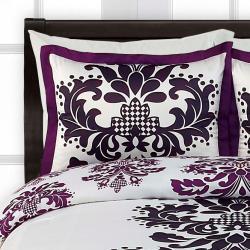 Posh King-size 4-piece Comforter Set - Thumbnail 1