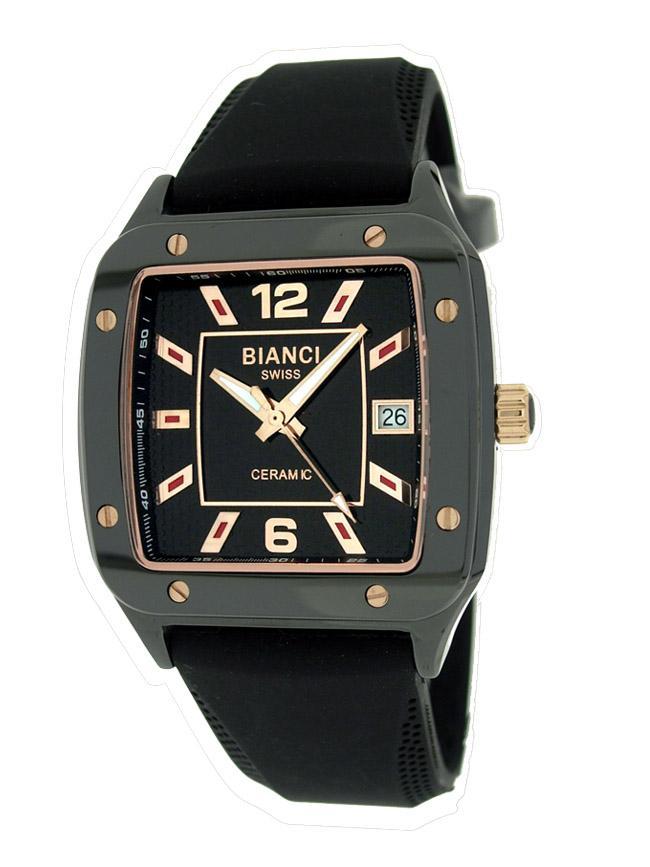 Roberto Bianci Men's Black Ceramic Watch