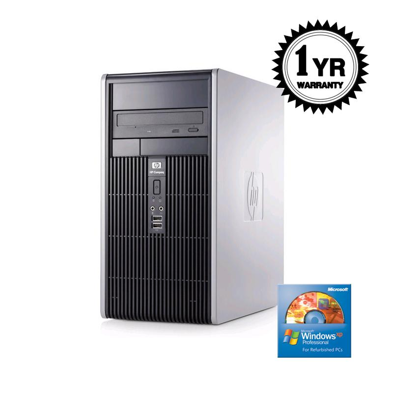 HP DC5750 2.0GHz 1G 500GB Combo XP MT Computer (Refurbished)